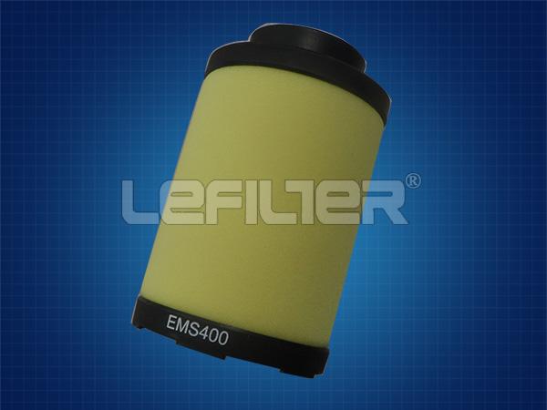 <b>Filtro de peças sobresselentes EMS 400 E</b>